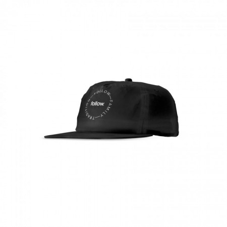 Follow Tradition Formless Cap - Black