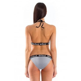 Glidesoul Signature One Strap Bikini Bottom SPGS/Black