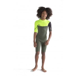 Jobe Boston Shorty 2mm Wetsuit Kids Army Green