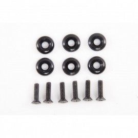 HO Sports Front Plate Hardware - 4 Pieces