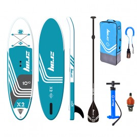 ZRAY X2 X-rider Deluxe 10'10'' Inflatable SUP board package