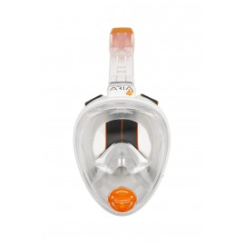 ARIA FULL FACE SNORKELING MASK JUNIOR White W/STICKERS