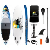 """AQUALUST 10'0 """"SUP Board Stand Up Paddle Surf Board inflatable paddle ISUP"""